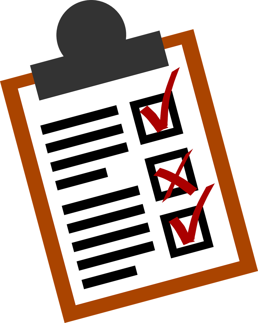 bookkeeping tip checklist